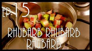 Food Request! Custard Tarts With Rhubarb Sauce!
