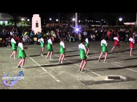 Graffiti Dance Crew At St Georges Santa Parade, Dec 8 2012