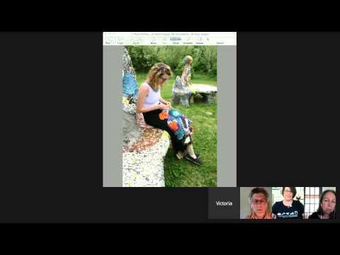 Fiber Art Now FANFare interview with Lindsay Gates and Stu Kestenbaum The Craft School Experience