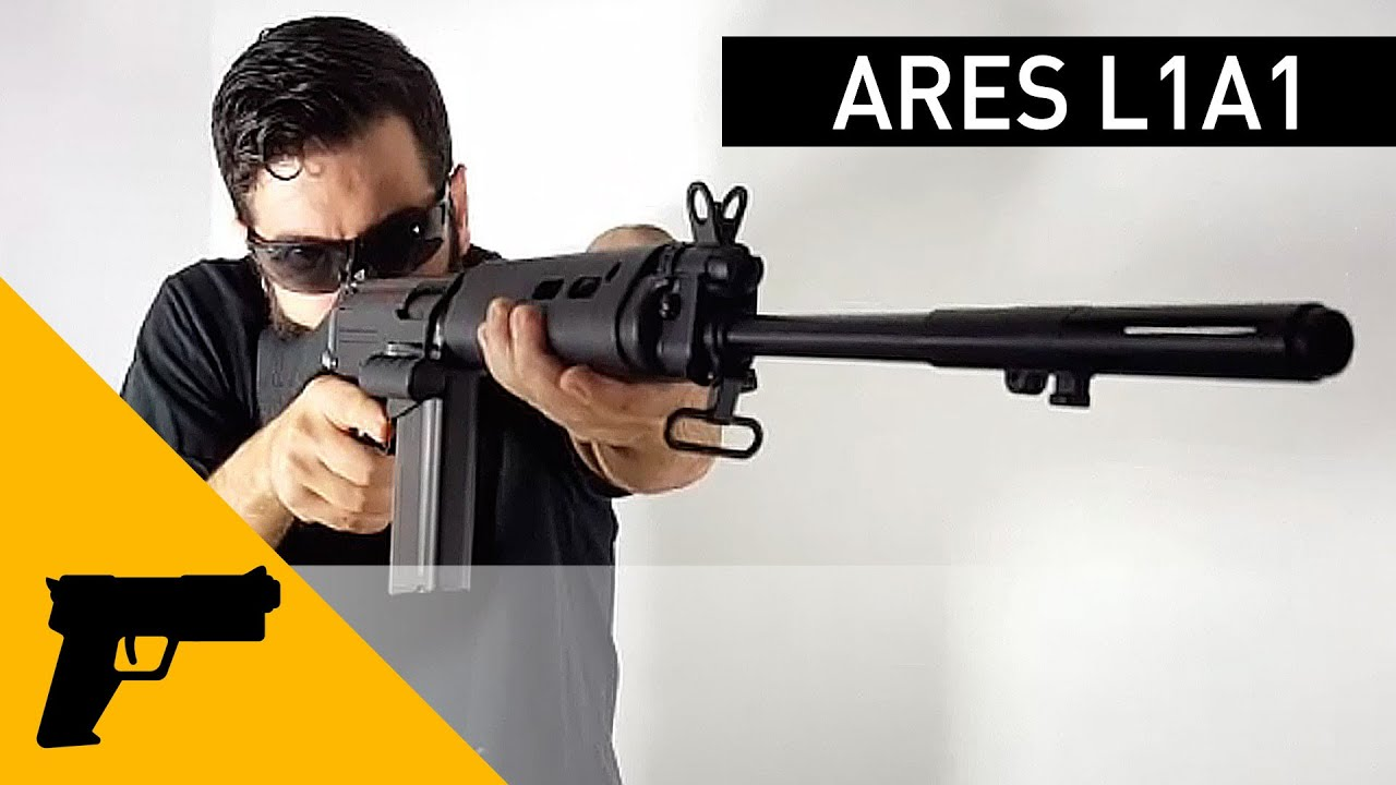 Ares L1A1 SLR full metal electric gun (real wood)