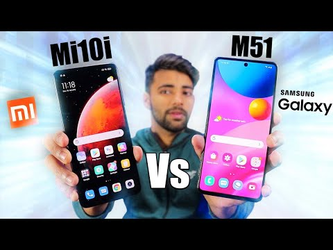Xiaomi Mi 10i 5G Vs Samsung M51