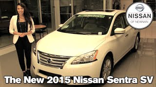 The New 2015 Nissan Sentra - Newnan, Atlanta, LaGrange, GA 2015 Nissan Sentra S SV SL
