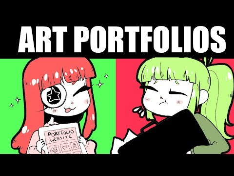 GET INTO ART SCHOOL! [How to Make a Portfolio + Look at My Old One!!!]