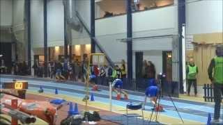 12 year old Zion Eriksson runs 200 metres in 25.31