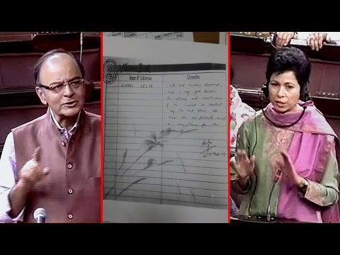 Arun Jaitley exposes Kumari Selja lies over temple remark