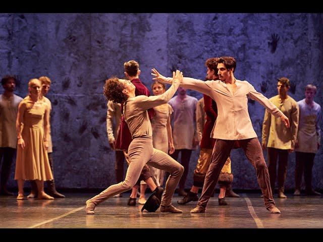 Akram Khan's Giselle: Hilarion vs. Albrecht in rehearsal | English National Ballet