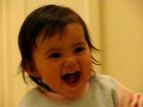 Daniela laughing