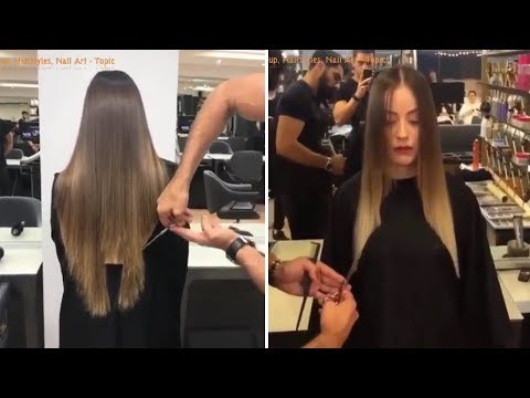 Viral Videos on Instagram 2018 – New Hairstyles and Haircuts Tutorials