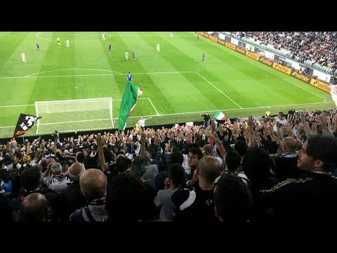 JUVENTUS 1-0 FIORENTINA | LIVE GOAL REACTION HD dall'ALLIANZ STADIUM! • (Curva Sud)