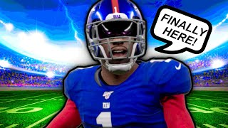 My First Ever NFL Game!! Madden 20 Face Of The Franchise #5