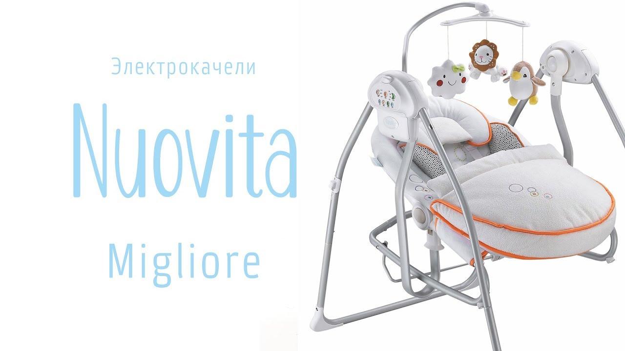 Электрокачели-шезлонг Nuovita Migliore