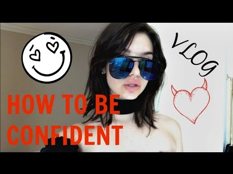 THE SECRET TO CONFIDENCE || Amanda Steele Vlog