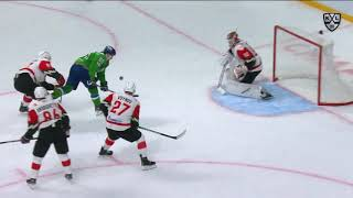 Manninen scores from mid-air