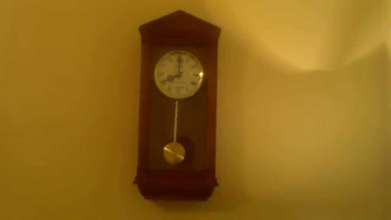 Seiko battery operated dual chime wall clock whittington youtube amipublicfo Image collections