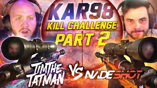 TIMTHETATMAN VS NADESHOT KAR98 KILL CHALLENGE - PART 2