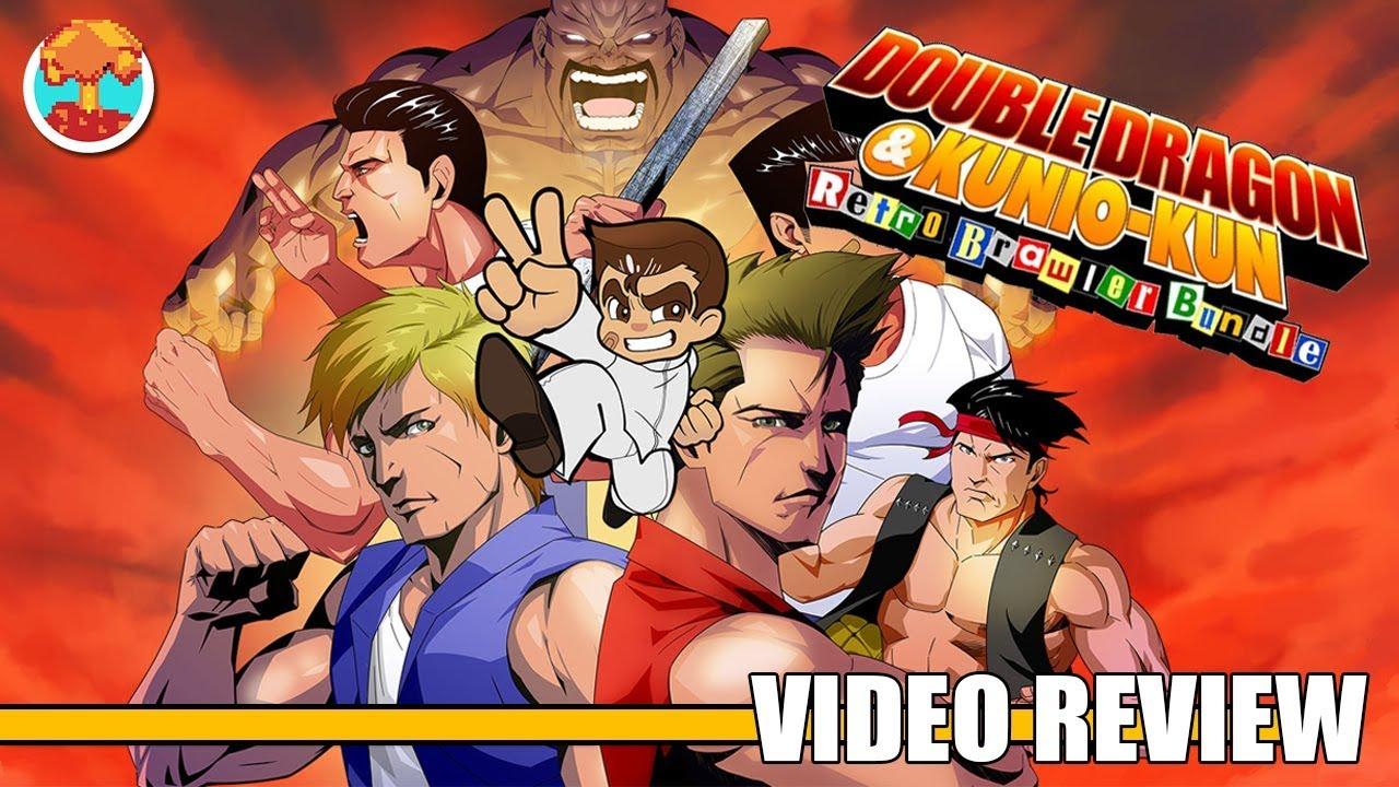 Review Double Dragon Kunio Kun Retro Brawler Bundle Playstation 4 Switch Defunct Games Youtube