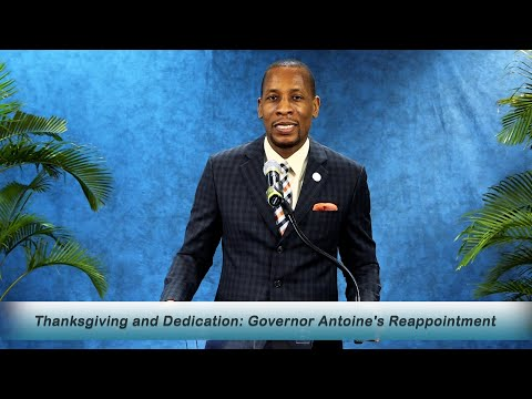 ECCB Connects S15 Ep5-Governor Antoine begins his second term with Thanksgiving & Dedication Service