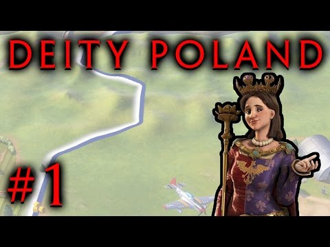 Poland can Into Civilization 6! - Let's Play - Part 1