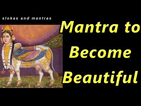 mantra to become beautiful