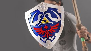 Print Your Own Hylian Shield! -- Game LUT #33