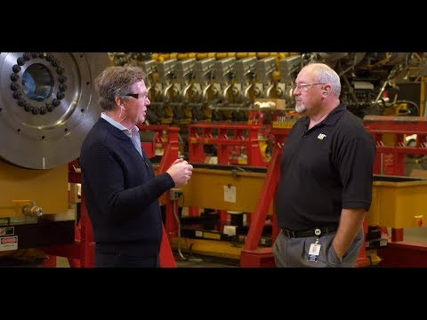 Lean Manufacturing At The Large Engine Center In Lafayette, Indiana