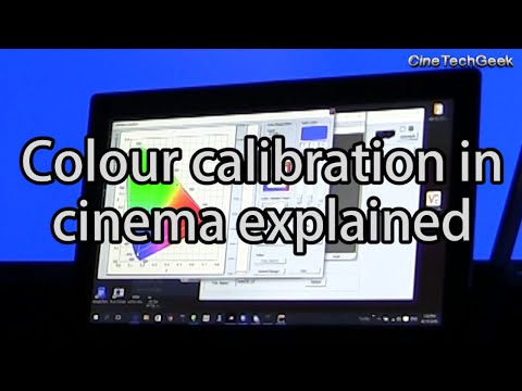 Color calibration in cinema explained