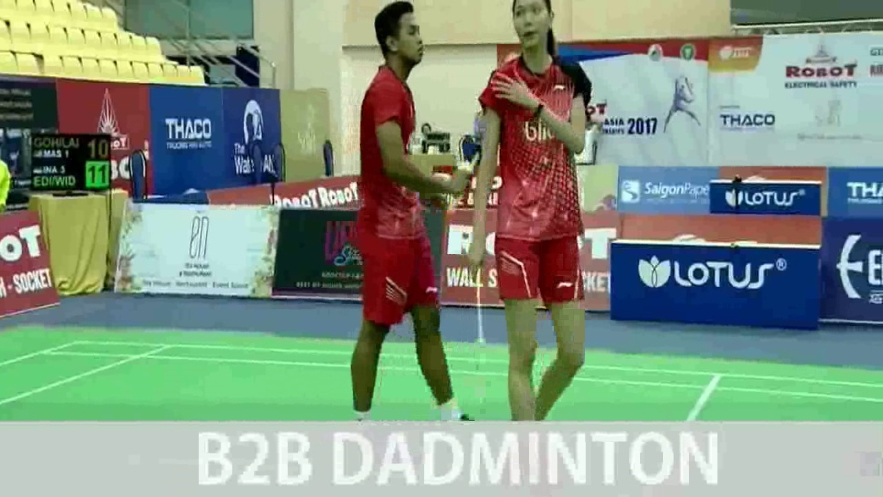 Badminton Asia Mixed Team 2017 GOH Soon Huat LAI Shevon Jemie vs