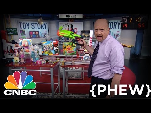 Hasbro is a Buy and Mattel is Not | Cramer Remix | CNBC