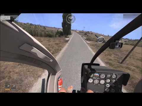 Arma 3 advanced flight modell with trackIR v5 - YouTube