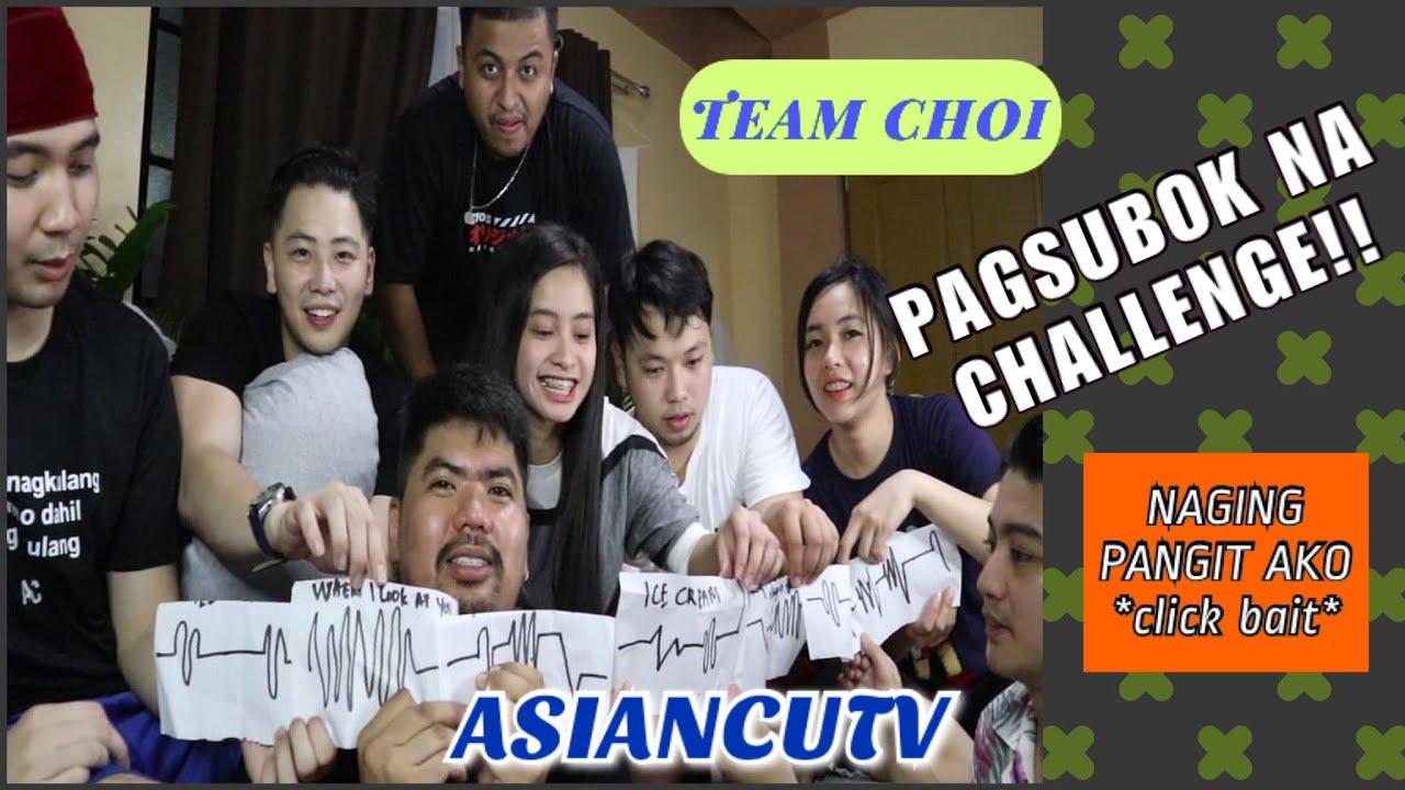 PAGSUBOK NA CHALLENGE (TEAM CHOI)