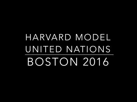BOSTON HMUN 2016 - YouTube