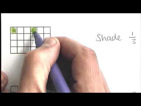 How To - Shade Fractions Of A Shape