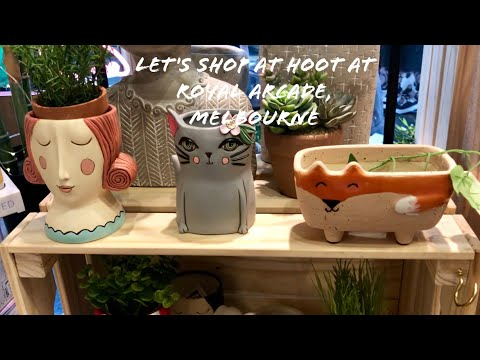 Cute Souvenir|Gift Shop | Hoot | Royal Arcade Melbourne Australia