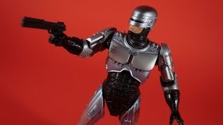 "RoboCop Action Figure Review First Release NECA Toys OCP Robo Cop 7"" Toy Original Version"