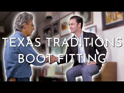 Cowboy Boot Fitting | Texas Traditions Handmade Boots | Lee Miller