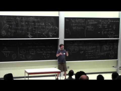 Topological invariance of non-topological invariants, Benson Farb