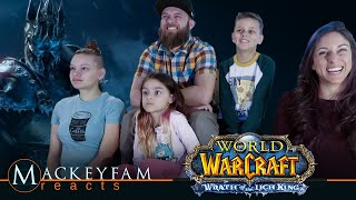 World of Warcraft: Wrath of the Lich King Cinematic Trailer- REACTION and REVIEW!!!