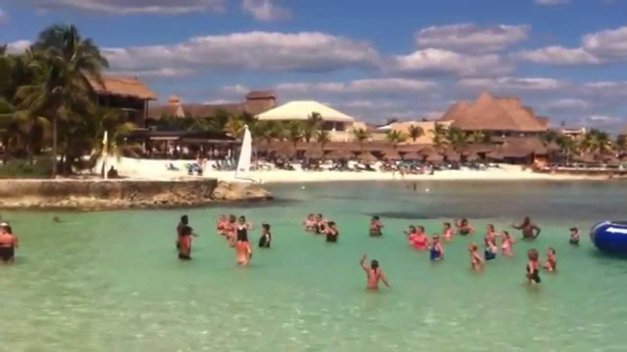 Ocean Aerobics At Dreams Puerto Aventuras
