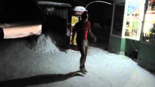 Отмороженный на морозе жарит))))