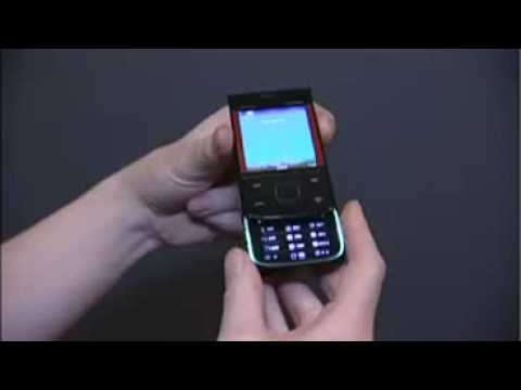 The Newly Announced Nokia 5330 XpressMusic Slider Phone Live