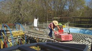 Grandpa builds theme park for granddaughter