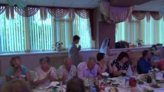 Свадебный конкурс, бабушка была в шоке