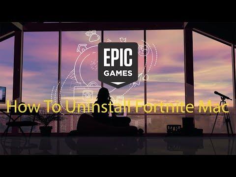 How To Delete Fortnite On Pc Mac