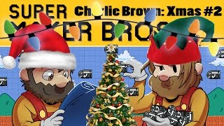 Super Mario Maker | Charlie Brown Christmas Ep. 2 | Super Beard Bros.