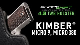 Most Comfortable Kimber Micro 9 IWB Holster | Alien Gear Holsters