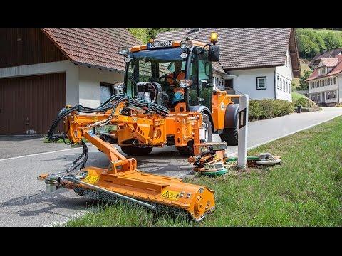 Multihog Multi Purpose Tractor Amp Barrier Mower Youtube