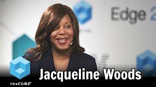 Jacqueline Woods, IBM - #IBMEdge - #theCUBE