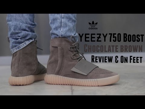 "adidas Yeezy 750 Boost ""Chocolate Brown"" Review + On Feet"