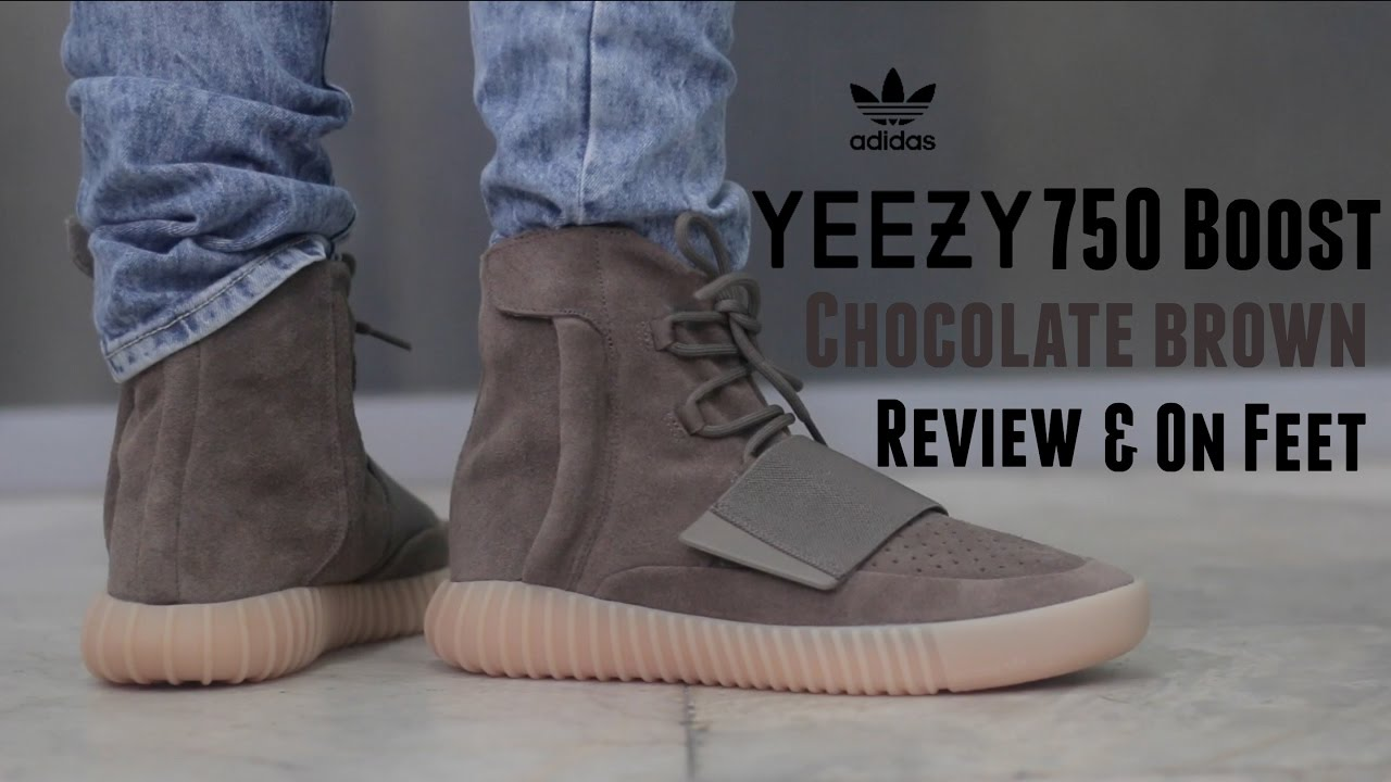Adidas Yeezy 750 Brown