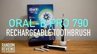 Орал-бі про 790 електрична акумуляторна зубна щітка відгук